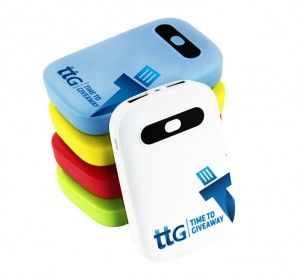 Time To Giveaway Plastic Power Bank 5600 mAh