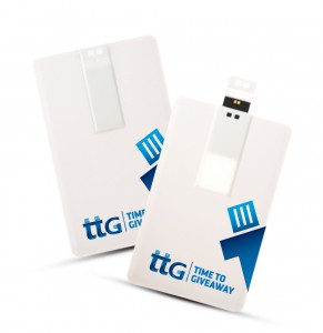 Time To Giveaway Credit card Usb