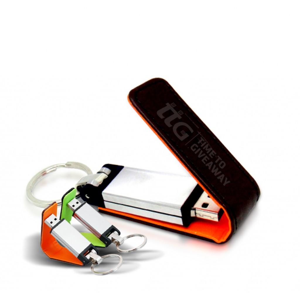 Leather USB-Flip2