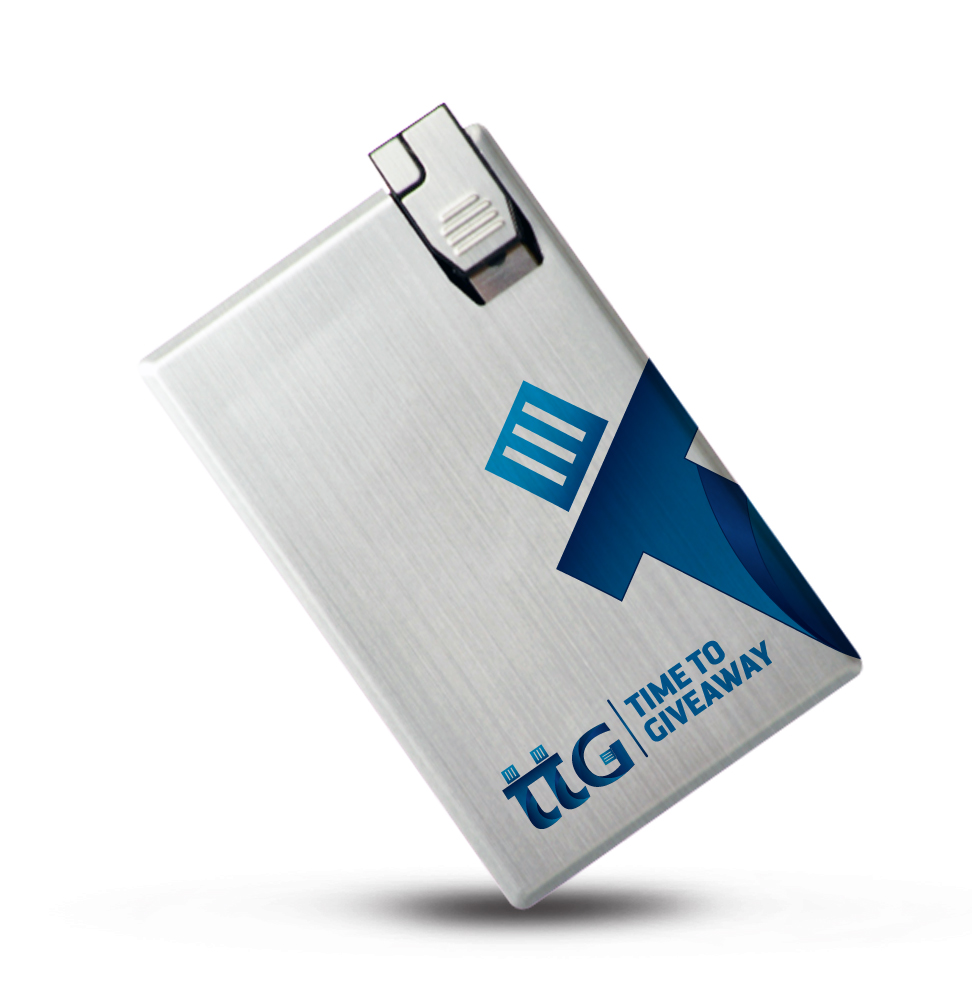 Time To Giveaway Stainless card usb