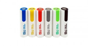 Time To Giveaway's Plastic 2600 mAh Power Bank