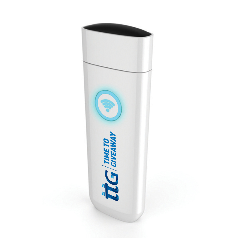 Time To Giveaway Wifi USB Drive White