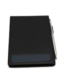 Time To Giveaway's leather notebook