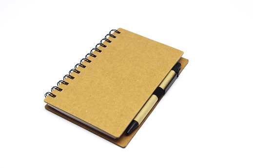 Time To Giveaway's Recycled paper notebook