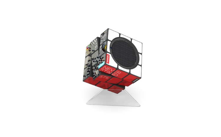 Rubiks_BT_Speaker_Lenovo_on_stand_1.jpg