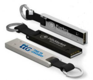 Time To Giveaway Metal Keychain USB