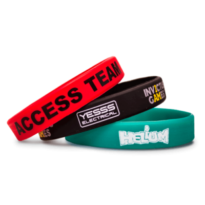 Time To Giveaway Rubber Bracelet2