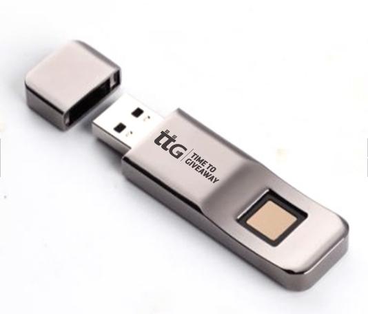 Time To Giveaway Fingerprint USB