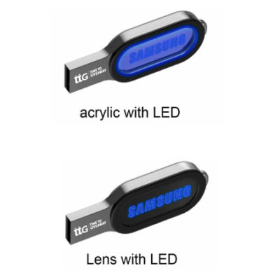 Time To Giveaway Oval Led USB