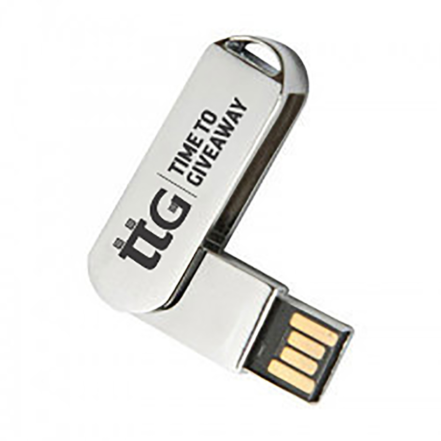 Time To Giveaway Metal USB4